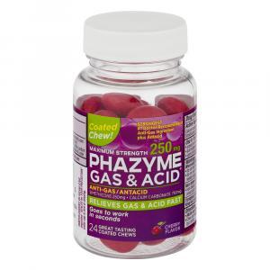 Phazyme Gas & Acid Chews 250mg