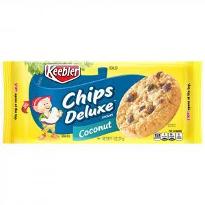 Keebler Chips Deluxe Coconut Cookies