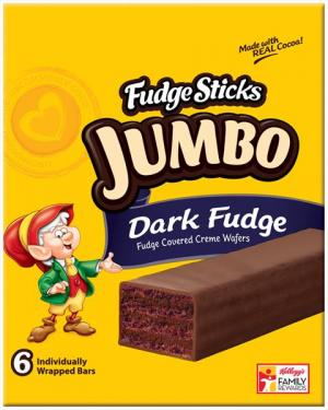 Keebler Jumbo Dark Fudge Sticks