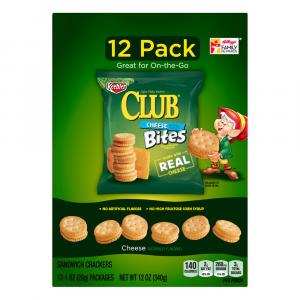 Keebler Club Cheese Bites Sandwich Crackers