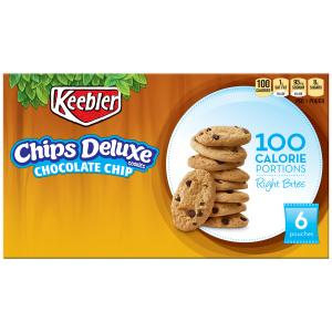 Keebler Right Bites Chips Deluxe Cookies
