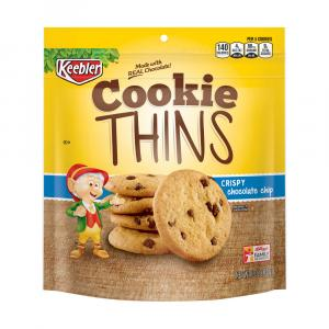Keebler Simply Made Cookie Thins Crispy Chocolate Chip
