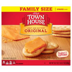 Keebler Town House Crackers Original Family Size