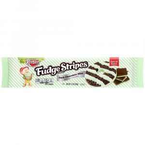 Keebler Fudge Stripes Cookies Dark Chocolate Mint