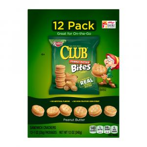 Keebler Club Peanut Butter Bites Sandwich Crackers