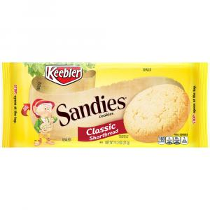 Keebler Simply Sandies Shortbread Cookies