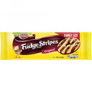 Keebler Fudge Stripes Original Family Size Cookies