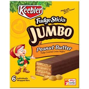 Keebler Fudge Shoppe Jumbo Peanut Butter Sticks