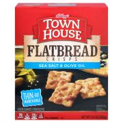 Keebler Town House Sea Salt & Olive Oil Flatbread Crisps