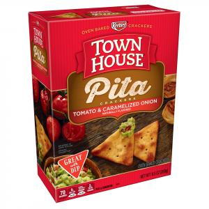 Keebler Town House Pita Crackers Tomato & Caramelized Onion
