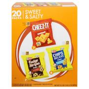Keebler Chips Deluxe Cheez-It and Fudge Stripes Minis