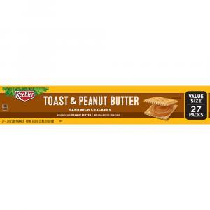 Keebler Toast & Peanut Butter Cracker Pack