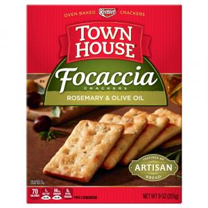 Keebler Town House Focaccia Rosemary & Olive Oil Cracker