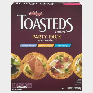 Keebler Toasted Medley Crackers