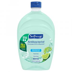 Softsoap Liquid Hand Soap Antibacterial Fresh Citrus