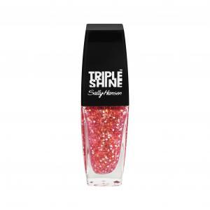 Sally Hansen Triple Shine Clear Twinkled Pink
