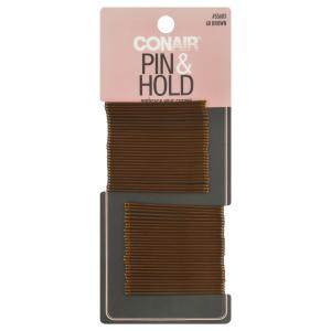 Conair Pin & Hold Brown Bobby Pins
