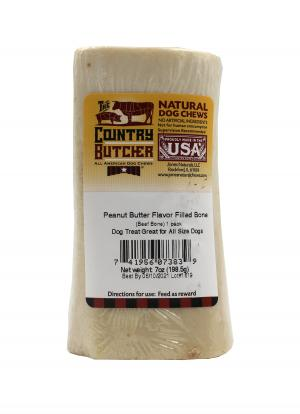 The Country Butcher Peanut Butter Filled Bone