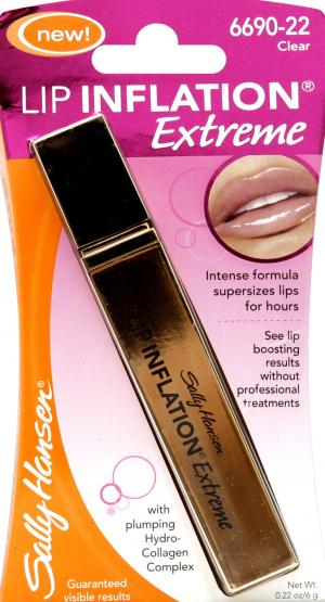 Sally Hansen Lip Inflation Extreme Sheer Clear