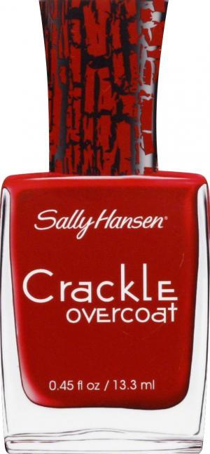 Sally Hansen Crackle Overcoat Cherry