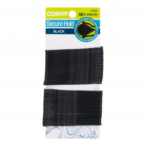Conair Pin & Secure Black Bobby Pins