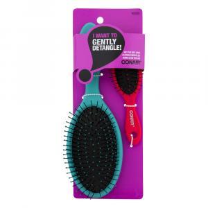 Conair Detangler Brush & Mini Brush