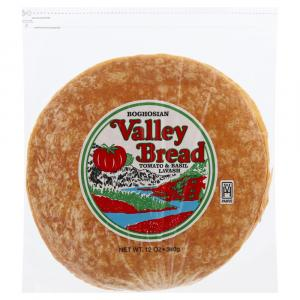 Valley Bread Middle East Tomato Basil Lavash