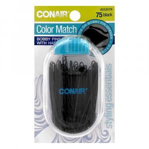 Conair Color Match Bobby Pins Black