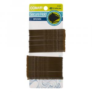 Conair Secure Hold Brown XL Bobby Pins