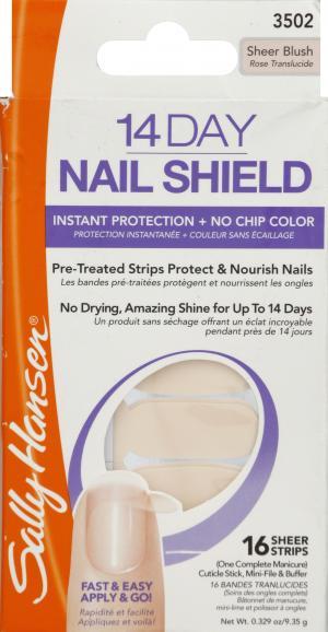 Sally Hansen Nail 14 Day Shield Sheer Blush