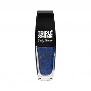 Sally Hansen Triple Shine Clear Wavy Blue
