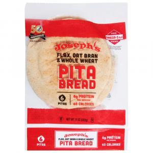 Joseph's Flax, Oat Bran & Whole Wheat Pita Bread