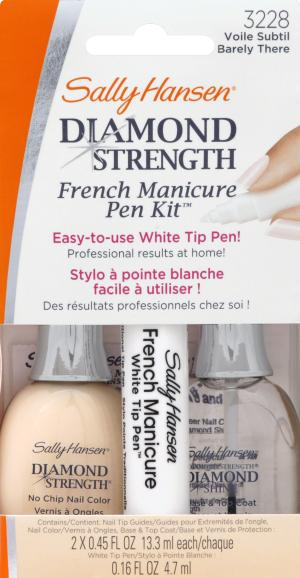 Sally Hansen Diamond Strength Manicure Kit Barely There