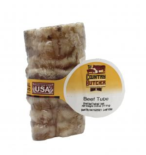 The Country Butcher Small Beef Tube Dog Chew