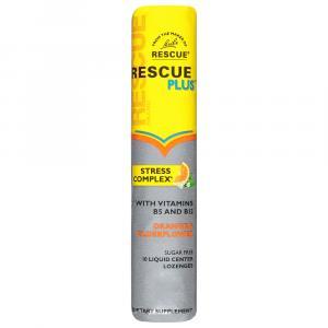 Rescue Plus Sugar Free Orange & Elderflower Lozenges