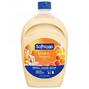 Softsoap Milk & Golden Honey Liquid Hand Soap Refill