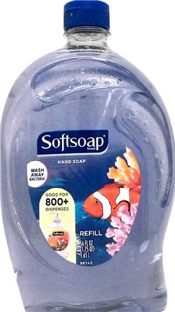 Softsoap Aquarium Liquid Hand Soap Refill