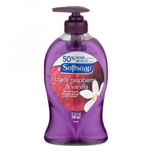 Softsoap Liquid Hand Soap Black Raspberry & Vanilla