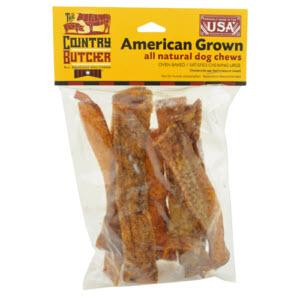 The Country Butcher Pork Skin Dog Chews