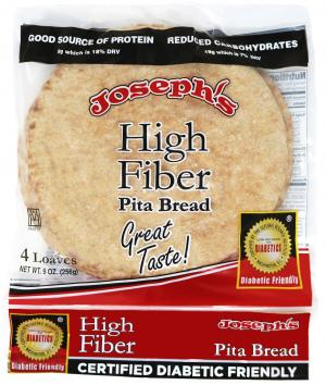 Joseph's High Fiber Plus Pita Bread