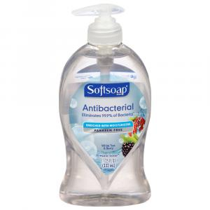 Soft Soap Antibacterial White Tea Liquid Hand Soap