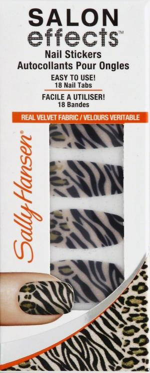 Sally Hansen Salon Effects Couture Nail Stickers - Faux Real
