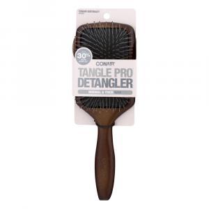 Conair Tangle Pro Detangler Wood Paddle Brush