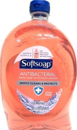 Softsoap Crisp Clean Antibacterial Liquid Hand Soap Refill
