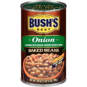 Bush's Baked Beans With Onion