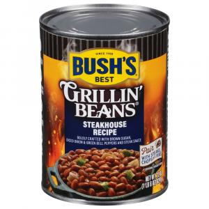 Bush's Steakhouse Recipe Grillin' Beans