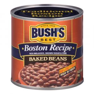 Bush's Boston Recipe Baked Beans