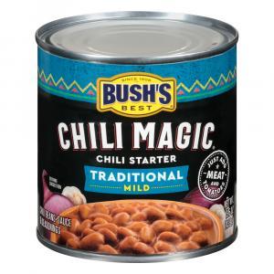 Bush's Traditional Chili Magic