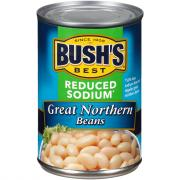 Bush's Best Reduced Sodium Great Northern Beans