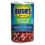 Bush's Reduced Sodium Dark Red Kidney Beans